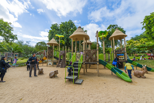 Children amusement park at Casela Mauritius