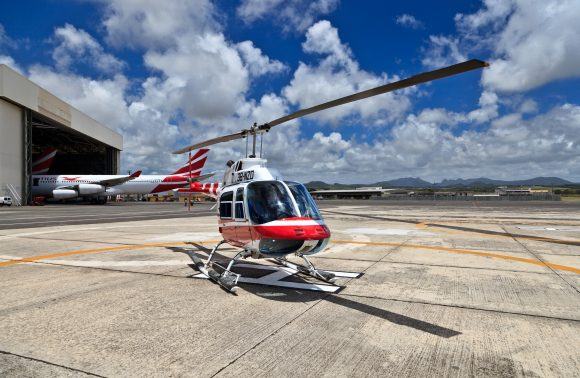 Helicopter Sightseeing Tours In Mauritius